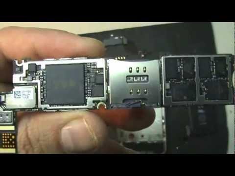 iClínica - Reparação iPhone 4 depois de ter caído à água