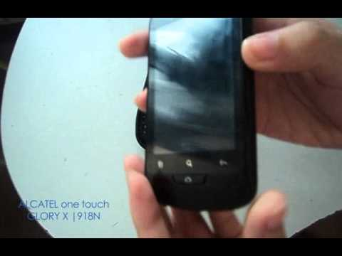 Alcatel Glory X One Touch 918N Review-Demo-Unboxing