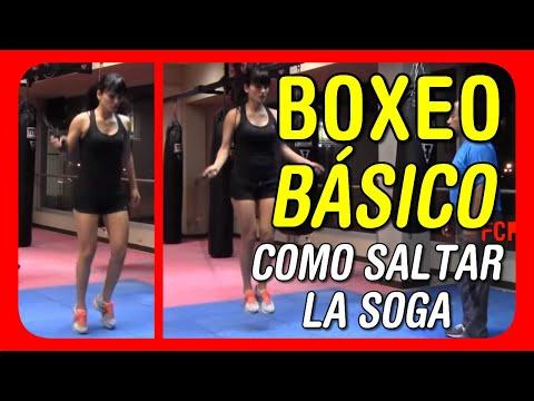 Clases de Boxeo para principiantes -  Aprendiendo a saltar la soga de boxeador