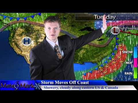 Springlike Storm to Bring Severe Weather, Heavy Rain to East : Apr 5, 2014