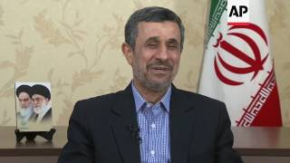 ONLY ON AP Ahmadinejad: The people will decide