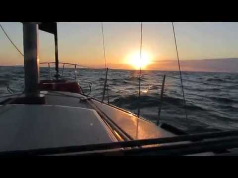 Video #6 - Sailing - Kemah, TX to St. Petersburg, FL -- Last Day! | 2-15-2014