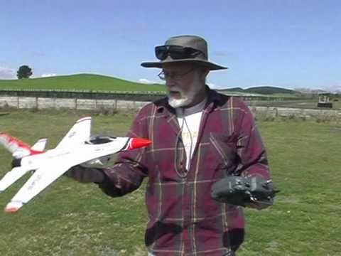F16 RC Plane test-flight crash