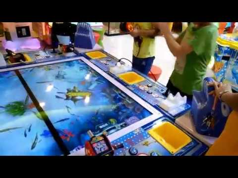 İndoor Playground Fishing Game Kids Funny Kids Playground
