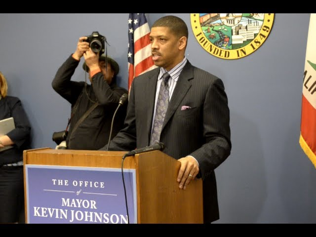 Kevin Johnson Press Conference 01-23-13
