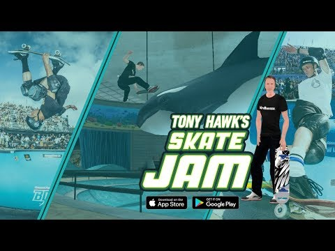 Tony Hawk's Skate Jam - Official Trailer (Tony Hawk Mobile Skateboard Game)