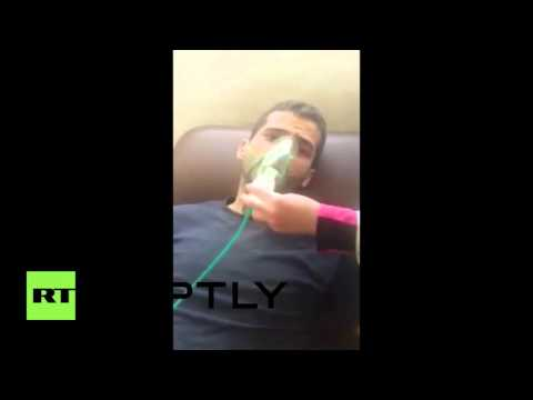 Syria: Survivors of Aleppo chemical gas attack speak about ordeal