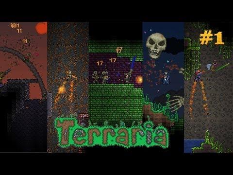 Terraria: Mundo Macana #1 por KERNEL404 (Live Gameplay/Comentado)