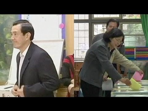 Taiwan votes with China relations at stake