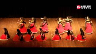 Beautiful classical Deewani Mastani Dance | Engifest 2016 | DTU