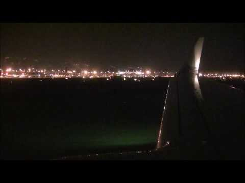 1080p Nightfall American Airlines 737-800 Landing in Dallas/Fort Worth!
