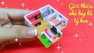 Giới thiệu ngôi nhà tý hon của chị Ami / Mini Dollhouse tour