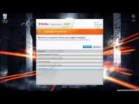Como Desactivar McAfee Security Suit 2013 | ¡Corto y Bien Explicado!