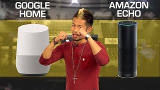Google Home vs. Amazon Echo - 2017 (CNET Prizefight)