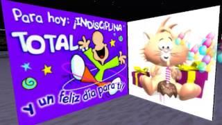 TARJETA DE  FELIZ CUMPLEAÑOS ANIMADA - JUST FOR YOU