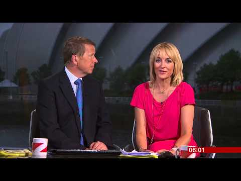 *HD* BBC Breakfast - Live at the Commonwealth Games - 23rd July 2014