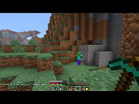 ATAQUE ZOMBÍFICO & A MAÇÃ! - A Conquista 5: Minecraft