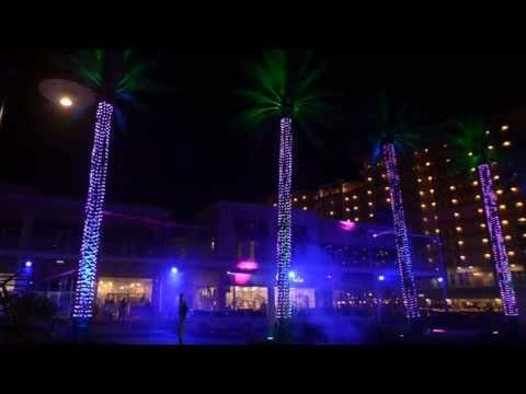 Spectra, Sound and Light show @ The Wharf in Orange Beach Alabama