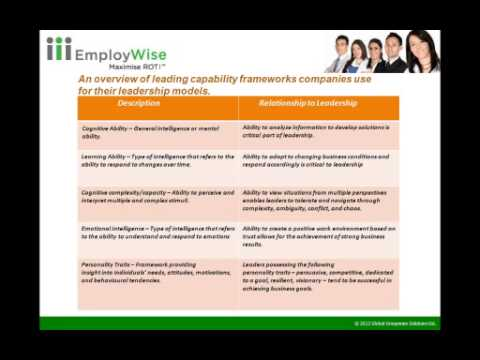 HR@EmployWise™ Assessment & Identification of Hi Potentials & Hi Flyers