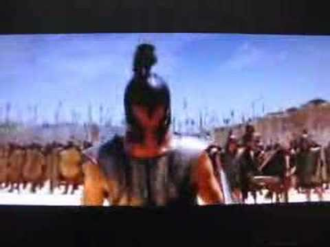 Troy - FIrst Fight - Entry of Achilles Brad Pitt - Battle for Thessaly