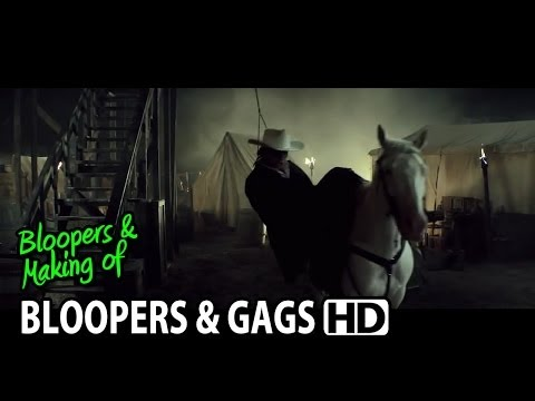 The Lone Ranger (2013) Bloopers Outtakes Gag Reel (Part2/2)