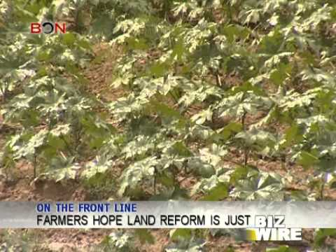 Farmers hope land reform is just - Biz Wire - December  07 - BONTV