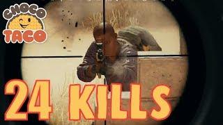chocoTaco is JUST TRYING TO DIE - PUBG Game Recap