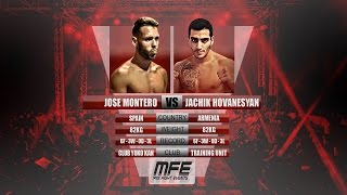MIX FIGHT - JOSE MONTERO vs JACHIK HOVANESYAN