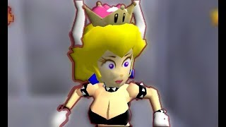 Play as Bowsette in Mario 64 [Commission]
