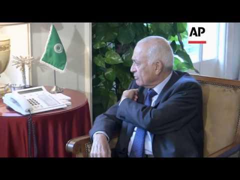 Peace envoy Brahimi briefs Arab League secretary general on Syria