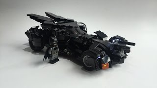 LEGO 76053 BATMOBILE Batman vs Superman lego led custom moc  改