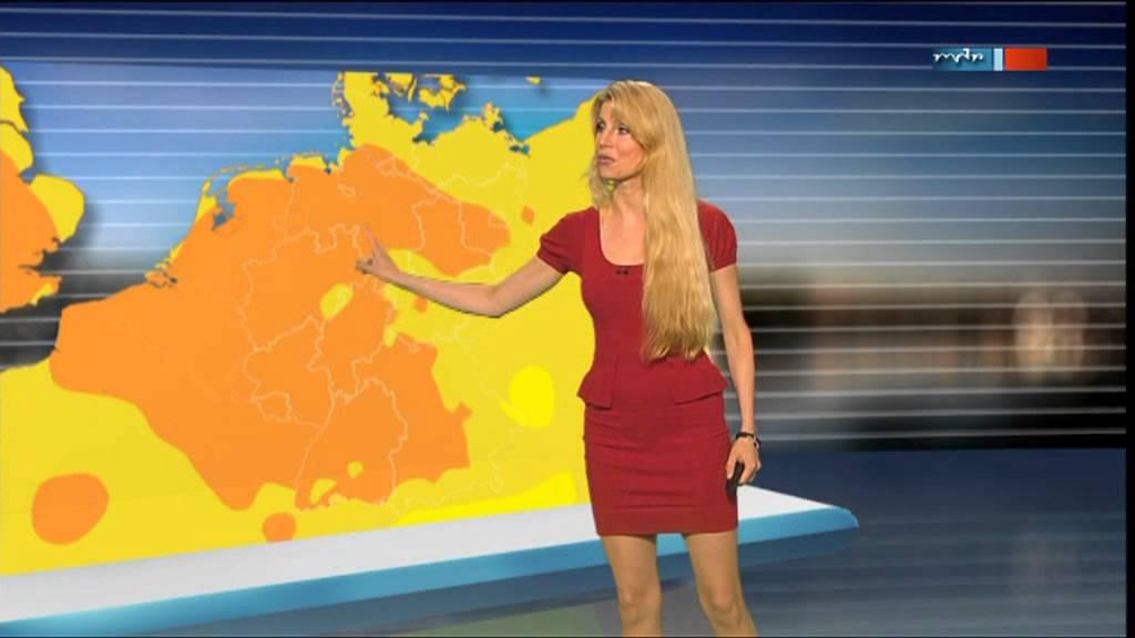 Maira Rothe - Das Sachsen-Wetter ist heiß! - YouTube