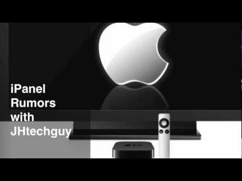 Apple's New TV iPanel Rumors (Apple TV Rumors)