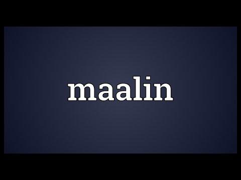 Header of maalin