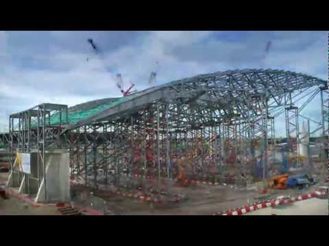 Time lapse - Aquatic Center London 2012 HD