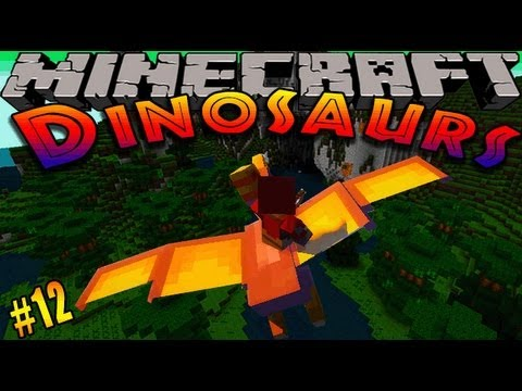 Minecraft Dinosaurs Dinosaur mod Episode 12 PLESIOSAUR ENCLOSURE