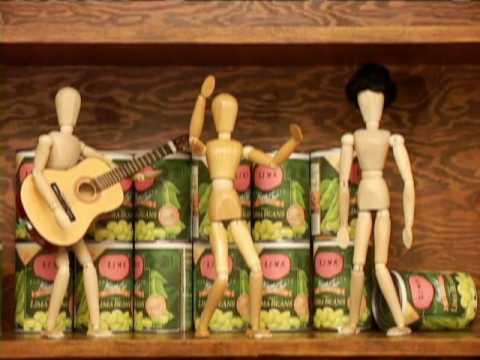 3 Little Wooden Guys - Lima Beans
