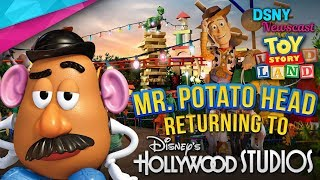 TOY STORY LAND Brings Back Mr. Potato Head Animatronic at Disney World - Disney News - 5/24/18