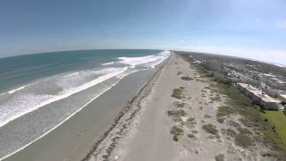 Cocoa Beach Florida Beaches Aerial Tour Video