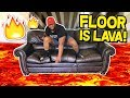 Download THE FLOOR IS LAVA!! | Hot Lava in Mp3, Mp4 and 3GP