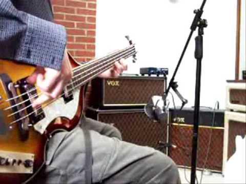 "Beatles violin ""beat"" bass copy by Bakers"