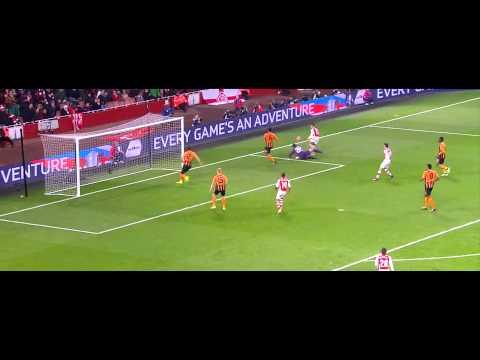 Alexis Sanchez Vs Hull City 4/1/15 1080p HD