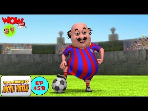 Pertandingan Bola Motu Patlu - Motu Patlu dalam Bahasa - Animasi 3D Kartun thumbnail