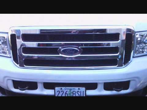 Excursion With New Style Front End Conversion, On 26' Rims. Super Duty   How To Make & Do ...