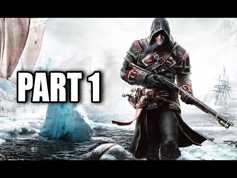 Assassin's Creed Rogue Gameplay Walkthrough Let's Play Part 1 INTRO FIRST MISSION Xbox 360 PS3