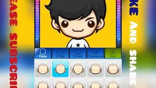 Super Mii Comic Avatar Maker (making my self)