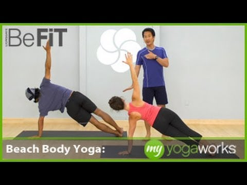 Beach Body Yoga Workout | MyYogaWorks- David Kim