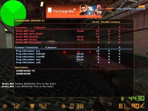 f0rest vs. Frag eXecutors @GameGune 2010 (de_nuke)