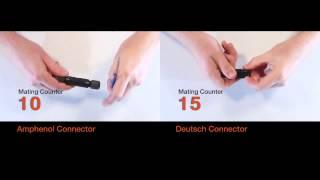 Amphenol vs Deutsch Connector Mating Test