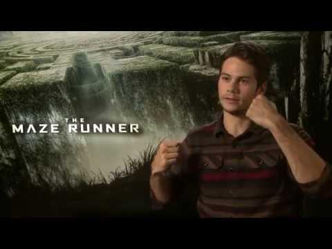 The Maze Runner - Dylan O'Brien interview